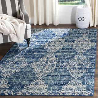 Safavieh Evoke Royal Blue/ Ivory Rug (9 x 12)   18661216