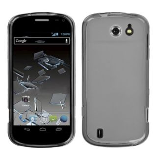 INSTEN Semi Transparent Smoke Candy Skin Phone Case Cover for ZTE N810