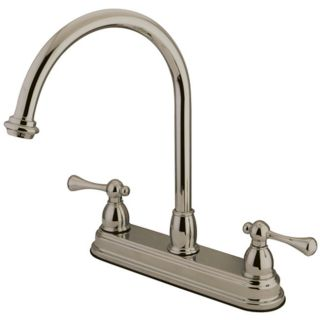 Kingston Brass KB3748BL Satin Nickel Kb374 bl Kitchen Faucet   Build