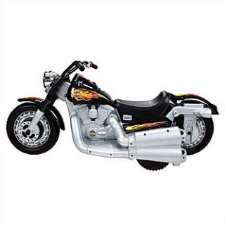 Power Wheels Harley Davidson Cruiser Looks Like a Real Motorcycle