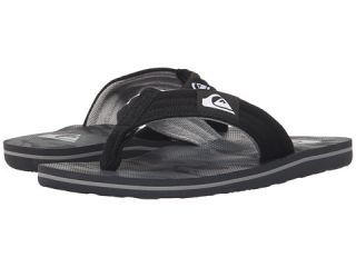 Quiksilver Kids Molokai Layback (Toddler/Little Kid/Big Kid) Black/Black/Grey