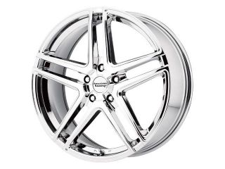 American Racing AR907 17x7.5 5x115 +42mm PVD Chrome Wheel Rim