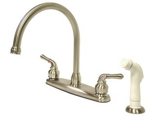 Kingston Brass KB798 Satin Nickel Kitchen Faucet