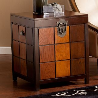 Southern Enterprises Hendrick Trunk End Table   End Tables