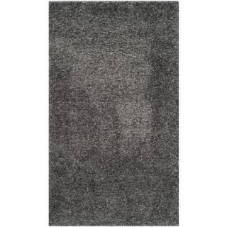 Safavieh California Shag Dark Gray 9 ft. 6 in. x 13 ft. Area Rug SG151 8484 10