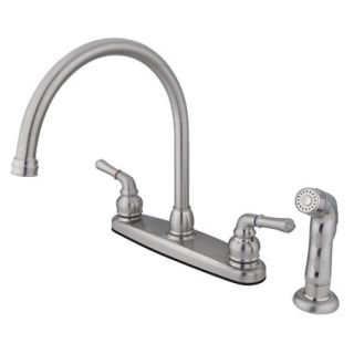 Kingston Brass GKB798SP Satin Nickel Gkb79 sp Kitchen Faucet   Build
