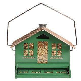 Perky Pet Metal Squirrel Resistant Bird Feeder Hopper