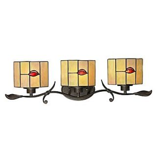Dale Tiffany Fantom Leaf 3 Light Vanity Light