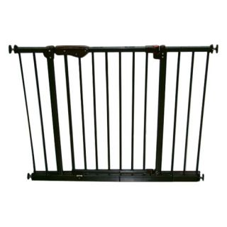 Crown Pet Products Auto Close Pressure Mounted Pet Gate with 2