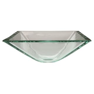 Kingston Brass Fauceture CV1616VCC Vessel Sink   Crystal Clear