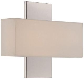 WAC Lighting WS 12511 PN Polished Nickel Wall Light