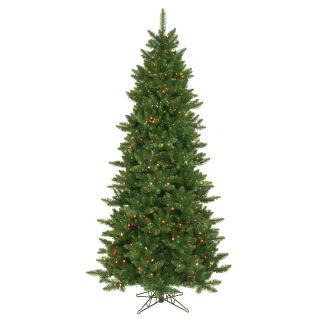 Vickerman 7.5 Camdon Fir Artificial Christmas Tree with 700 LED Multi