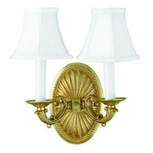 World Imports   620814 Universal French Gold  Wall Lamps Lighting
