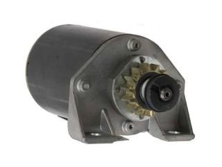 STARTER MOTOR FITS BRIGGS STRATTON VARIOUS ENGINES 14 TEETH 695479 111902 111982 695479