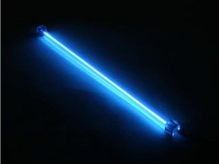 "LOGISYS Computer CLK15BL 15"" Blue Deluxe Sound Activated Cold Cathode Light Kit"