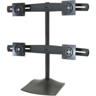 Ergotron DS100 Quad Monitor Desk Stand (Black) 33 324 200