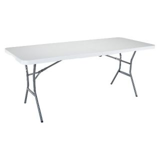 Lifetime 6 Folding Table   White Granite