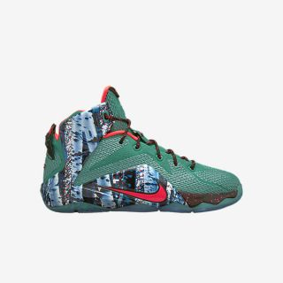 LeBron 12 (3.5y 7y) Kids Basketball Shoe.
