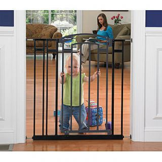 Tomy First Years Ex Tall Decor Gate   Black, Model# Y7190   Baby