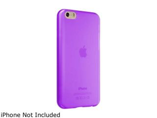 Insten Clear Purple TPU Rubber Gel Case for Apple iPhone 6 Plus (5.5 inch) 1929860